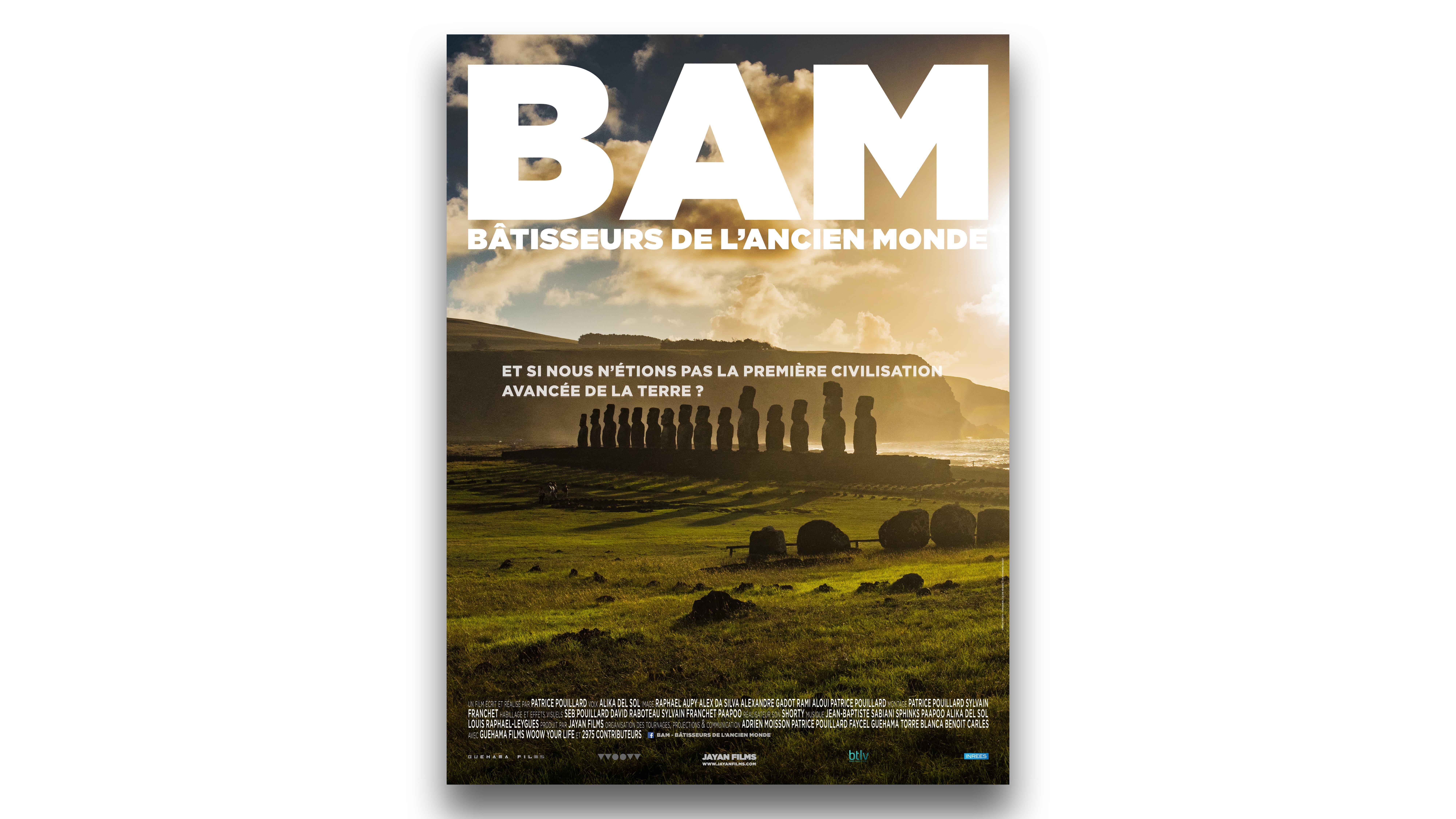 BAM bâtisseur de l'ancien monde patrice pouillard affiche film