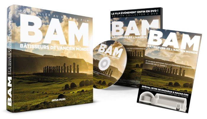 BAM LIVRE + DOUBLE DVD COLLECTOR